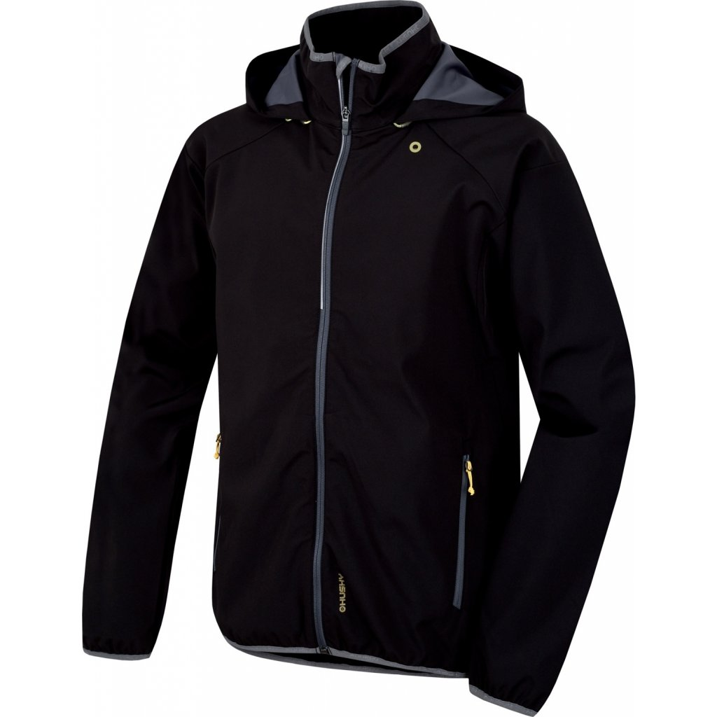 Pánská softshell bunda HUSKY Sally M černá + Sleva 5% - zadej v košíku kód 69c07ac2b3