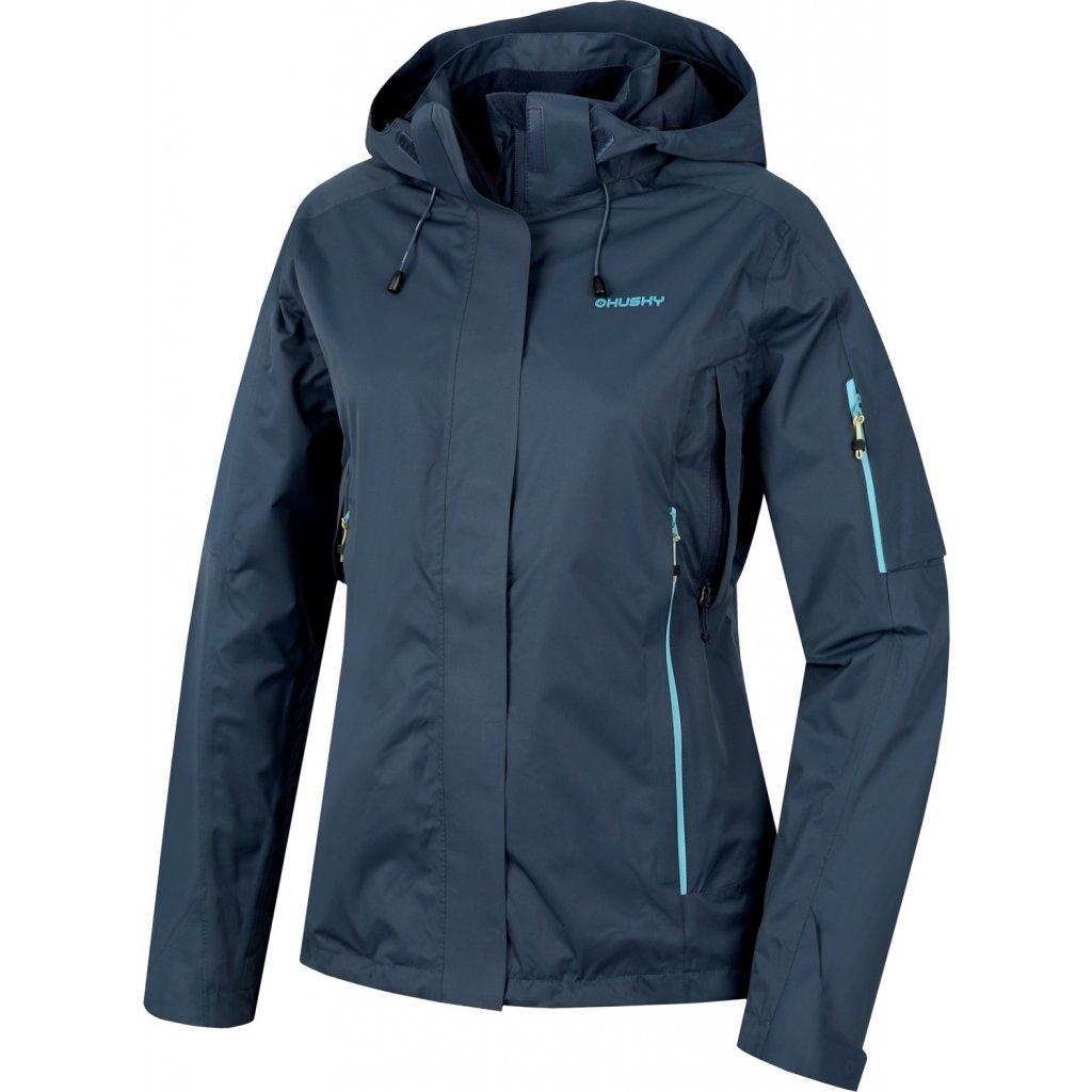 Dámská nepromokavá outdoorová bunda HUSKY Neta L antracit