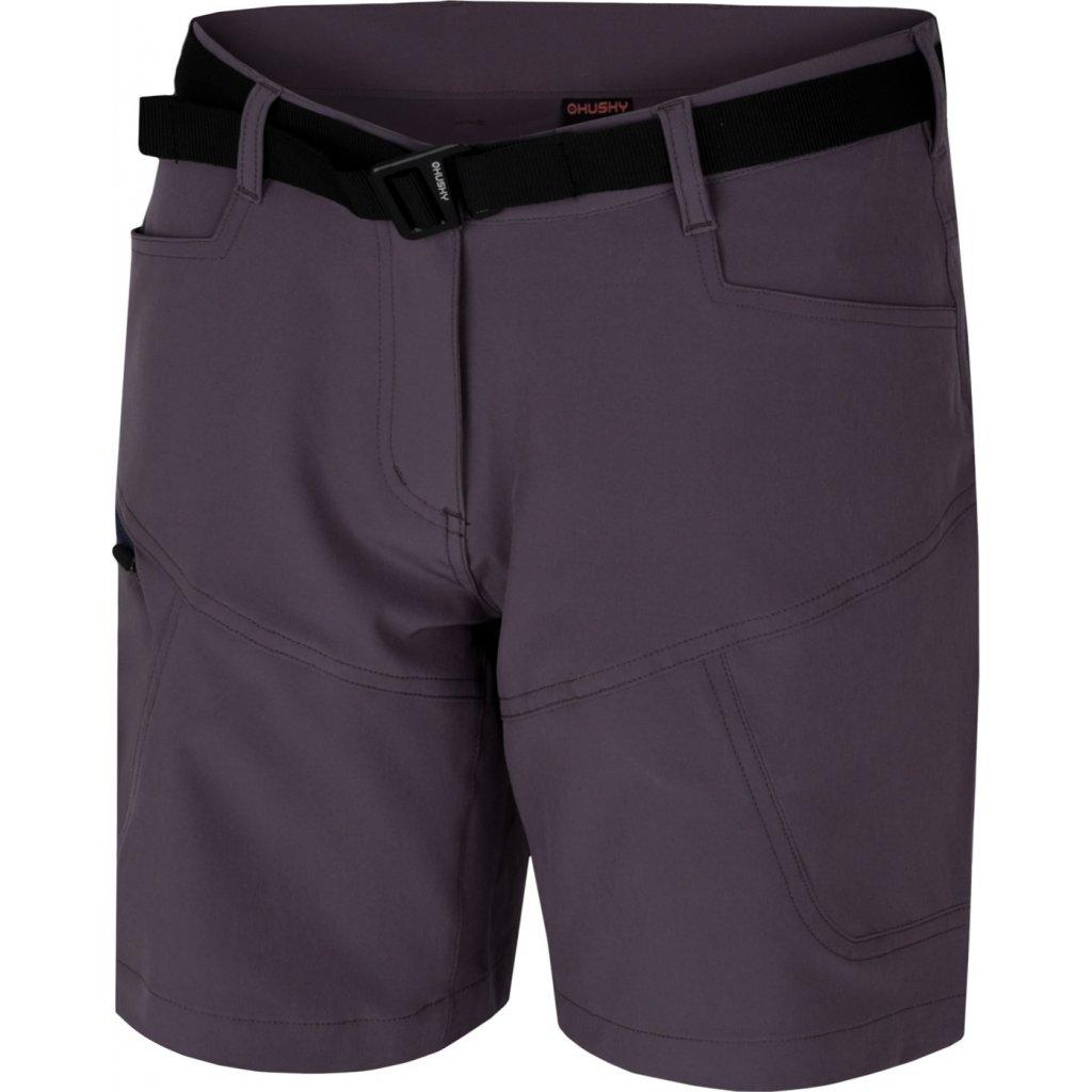 Dámské šortky  HUSKY Kimbi L šedofialová