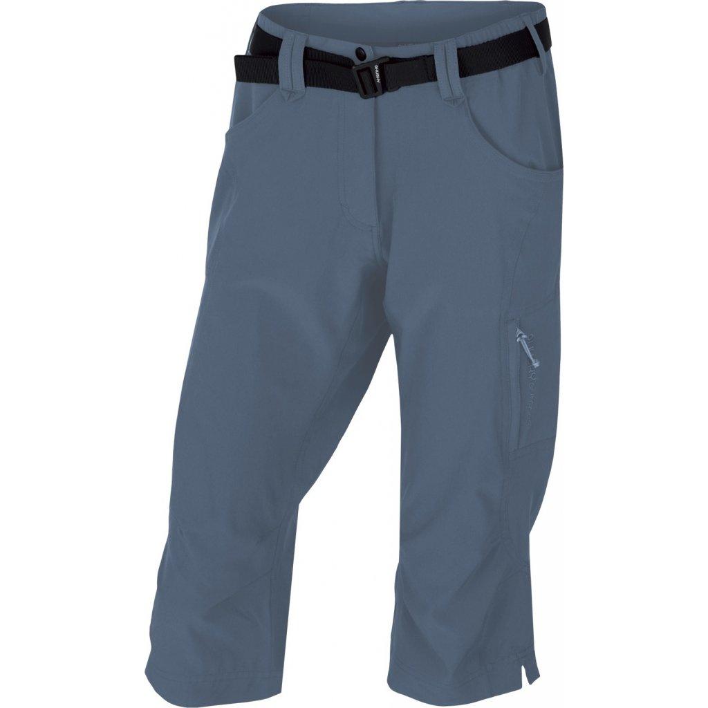 Dámské 3/4 kalhoty HUSKY Klery L tm. šedá