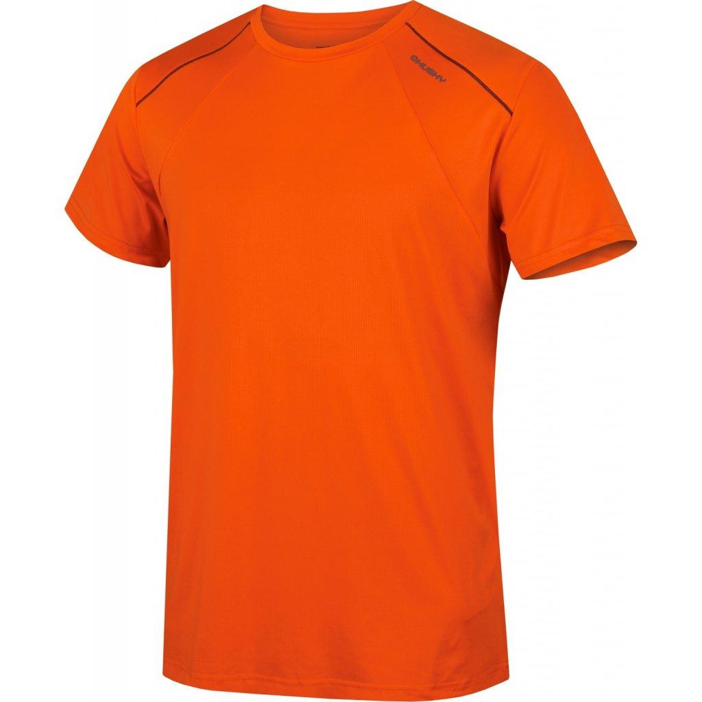 Pánské triko HUSKY  Telly M oranžová