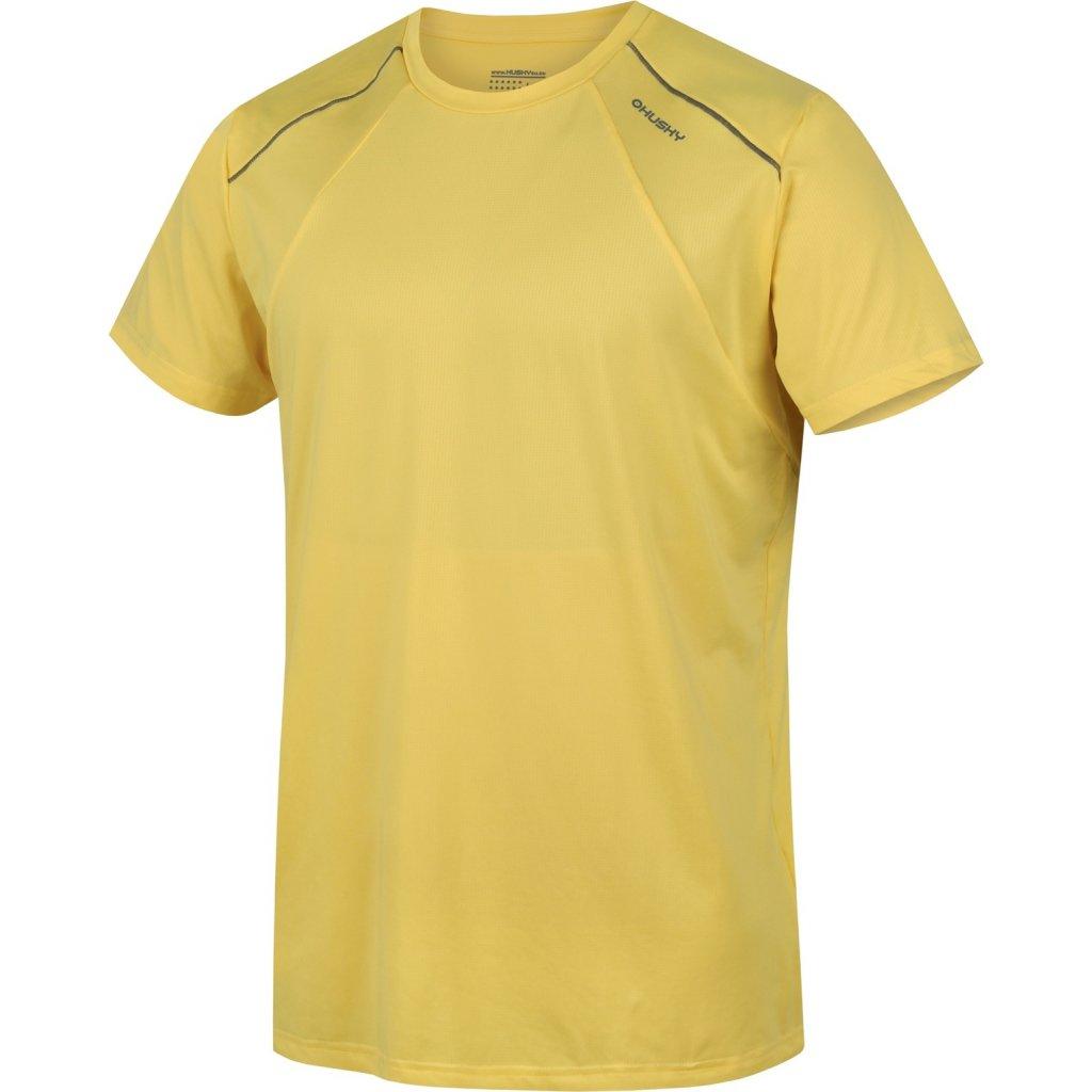 Pánské triko HUSKY  Telly M sv. žlutá