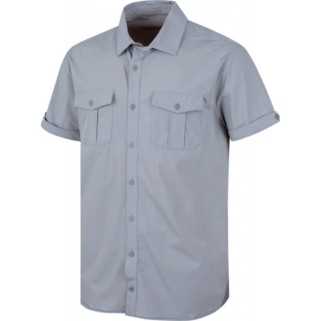 Pánská košile HUSKY   Gomy sv. šedá