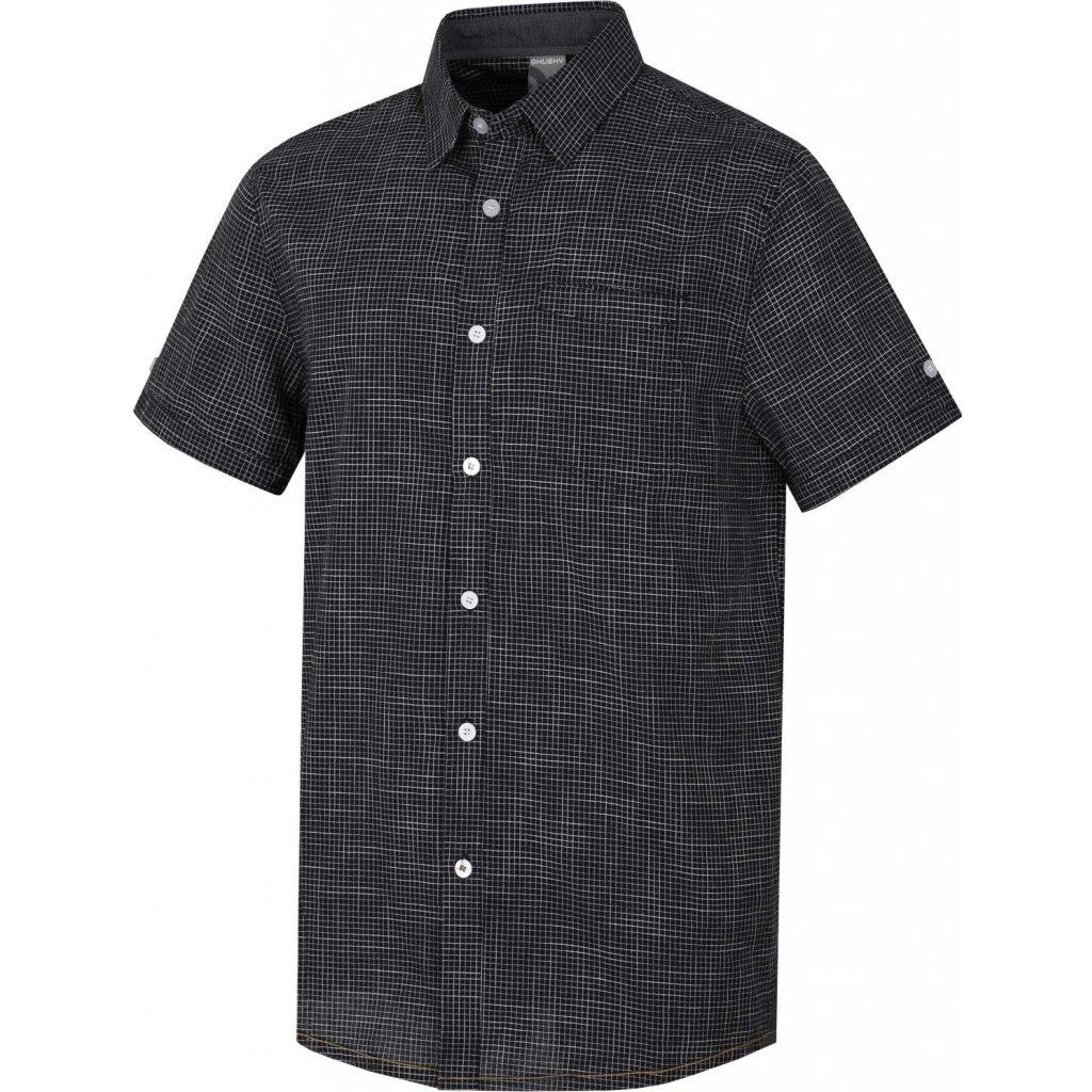 Pánská košile  HUSKY Grimy M černý mentol