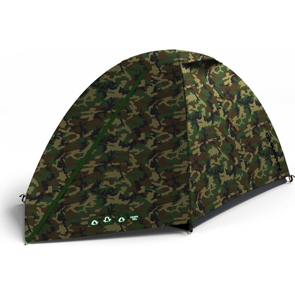 Stan HUSKY Outdoor Bizam 2 army zelená