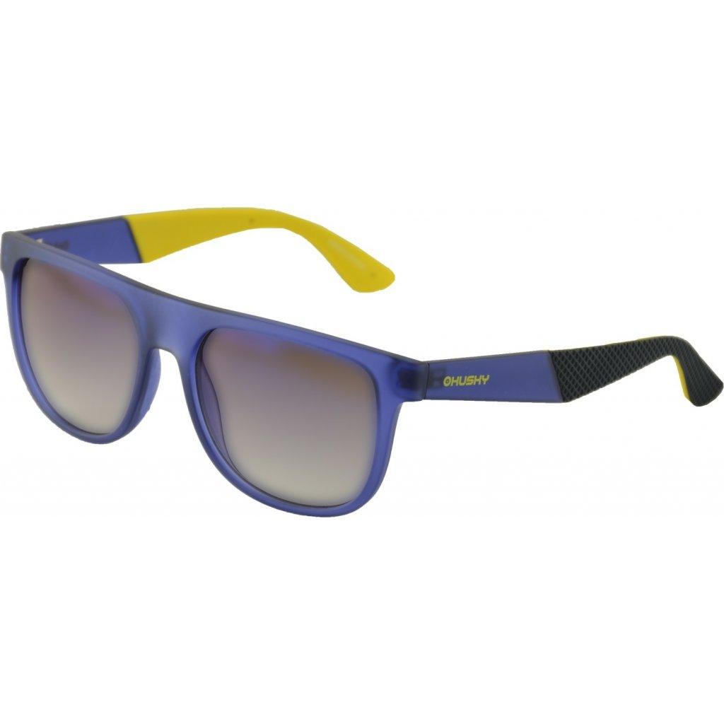 Sportovní brýle HUSKY  Steam modrá/žlutá