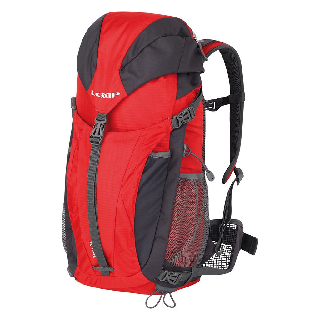 Turistický batoh LOAP Terra 24 červená