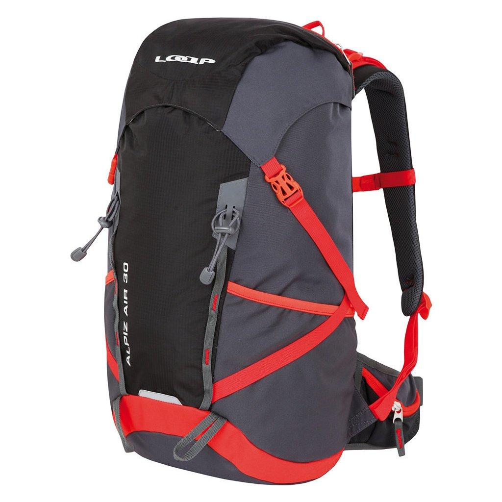 Turistický batoh LOAP Alpiz Air 30 šedá