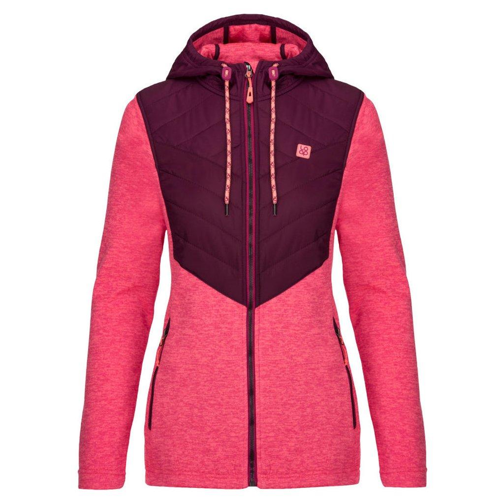 Dámský sportovní svetr LOAP Gaya růžová