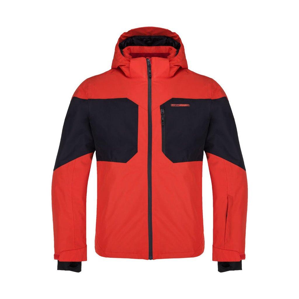 Pánská lyžařská bunda LOAP Fritz červená