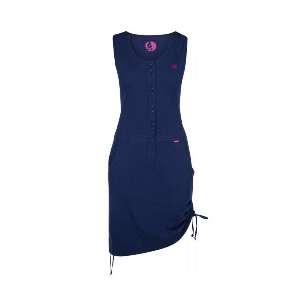 Dámské sportovní šaty LOAP Nela modrá  349068c0883