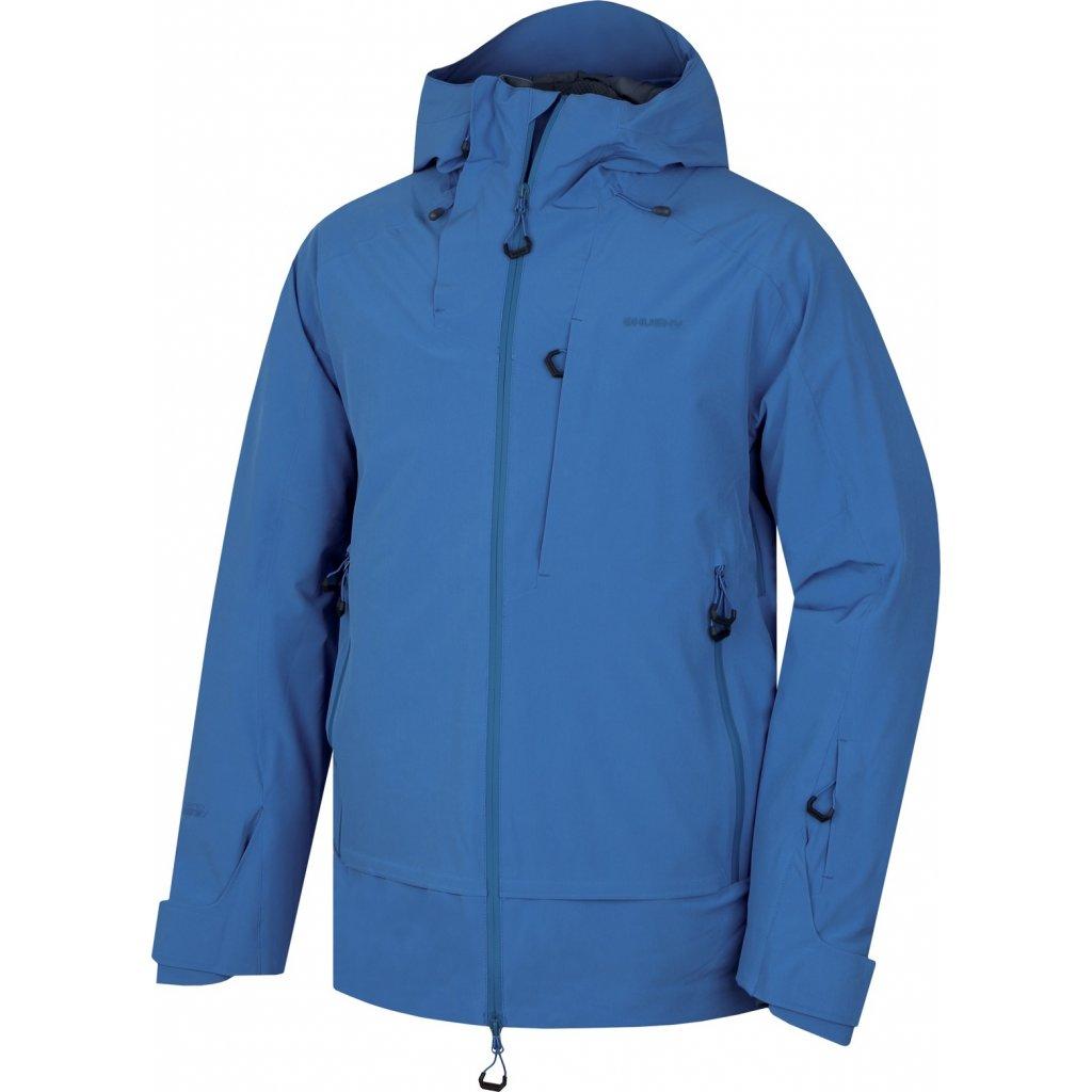 Pánská lyžařská bunda HUSKY  Gombi M tm. modrá