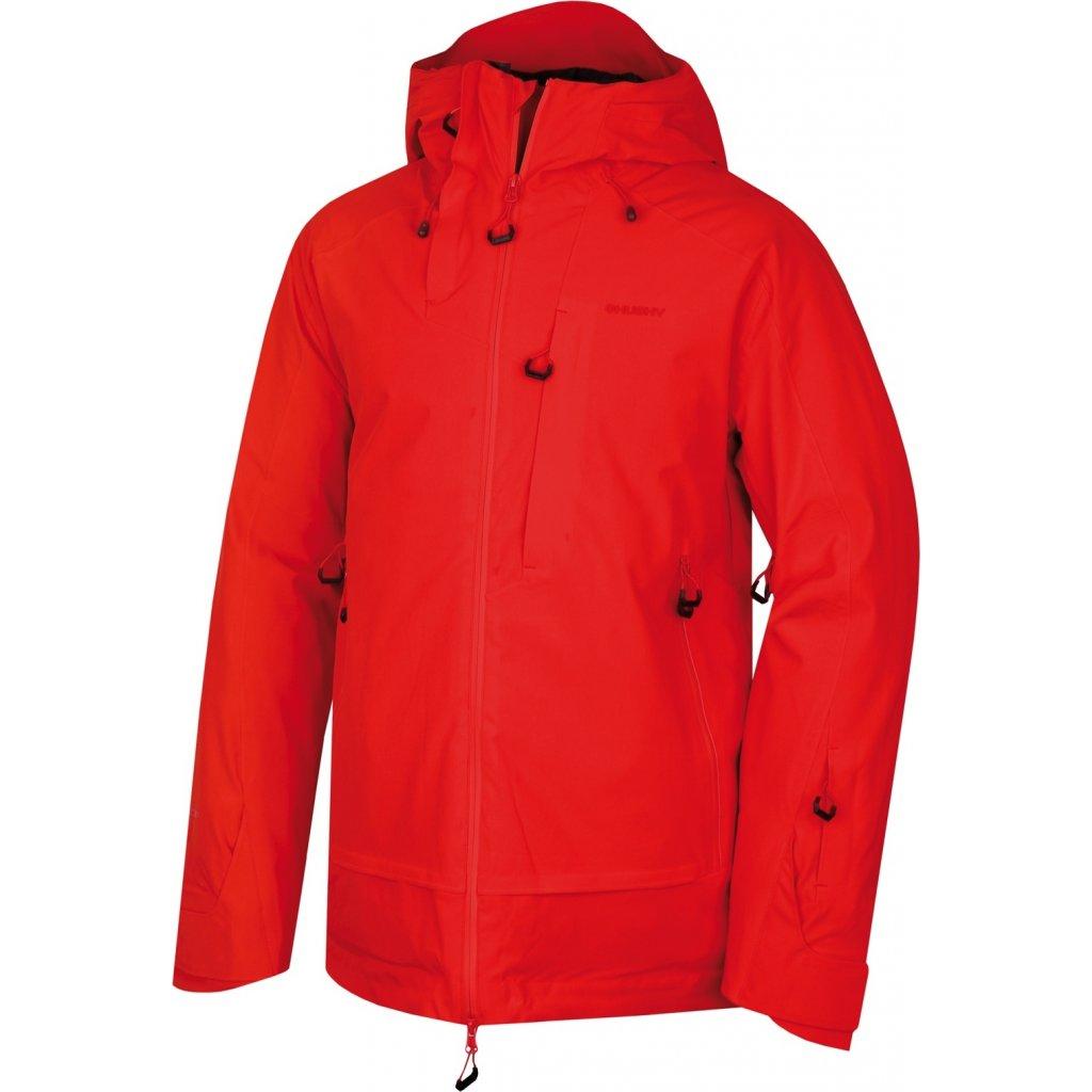 Pánská lyžařská bunda HUSKY  Gombi M červená