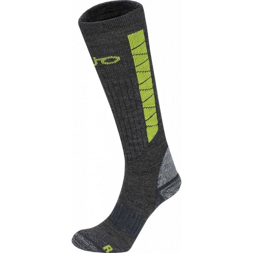 Ponožky ZAJO Heavy Outdoor Socks Long sivá