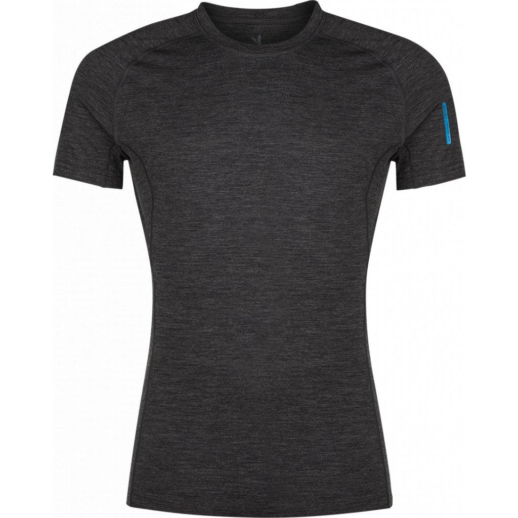 Pánské tričko ZAJO Bjorn Merino Tshirt SS černá