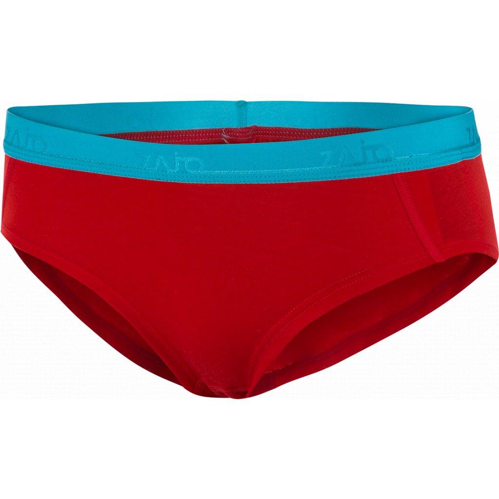 Dámské kalhotky ZAJO Elsa Merino W Briefs rudá
