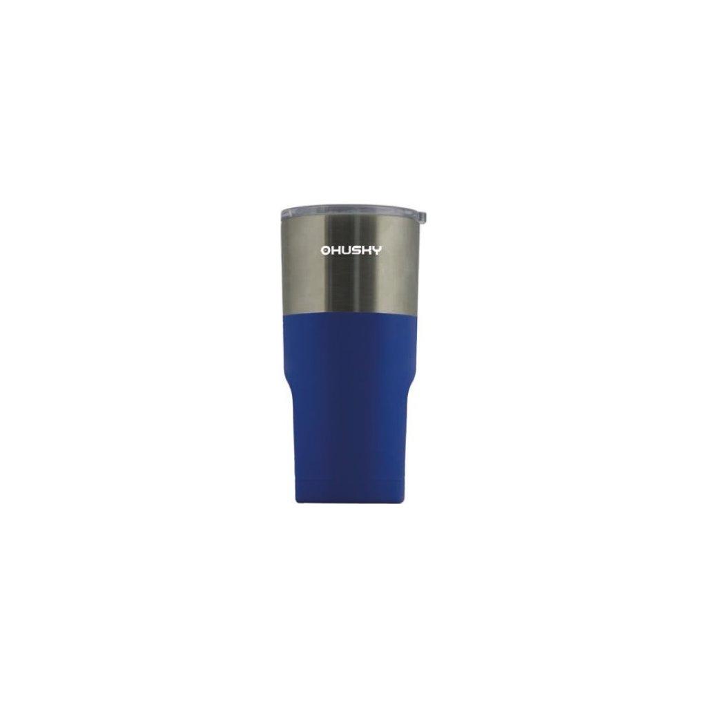 Termo hrnek HUSKY MICK Thermo Mug 500 stříbrná