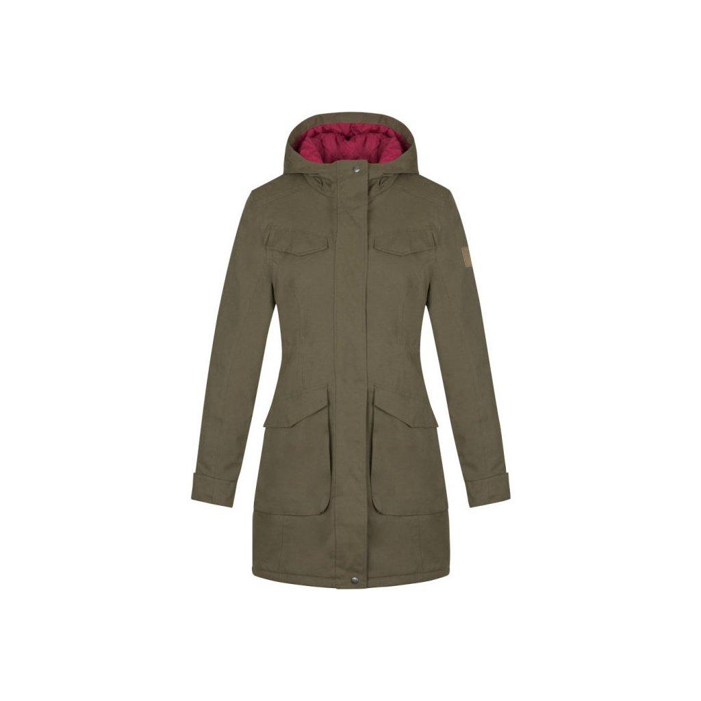 Dámská zimní bunda LOAP Nadetta zelená