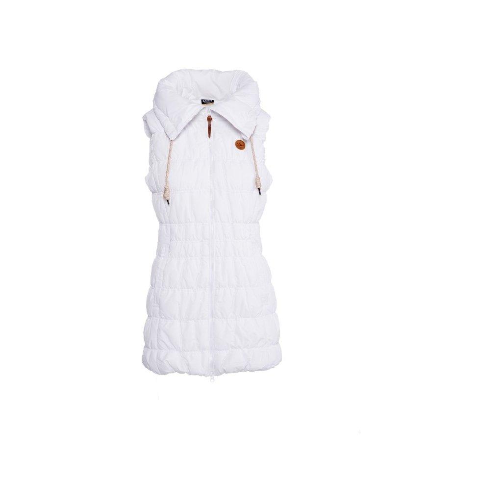 Dámská vesta SAM 73  bílá