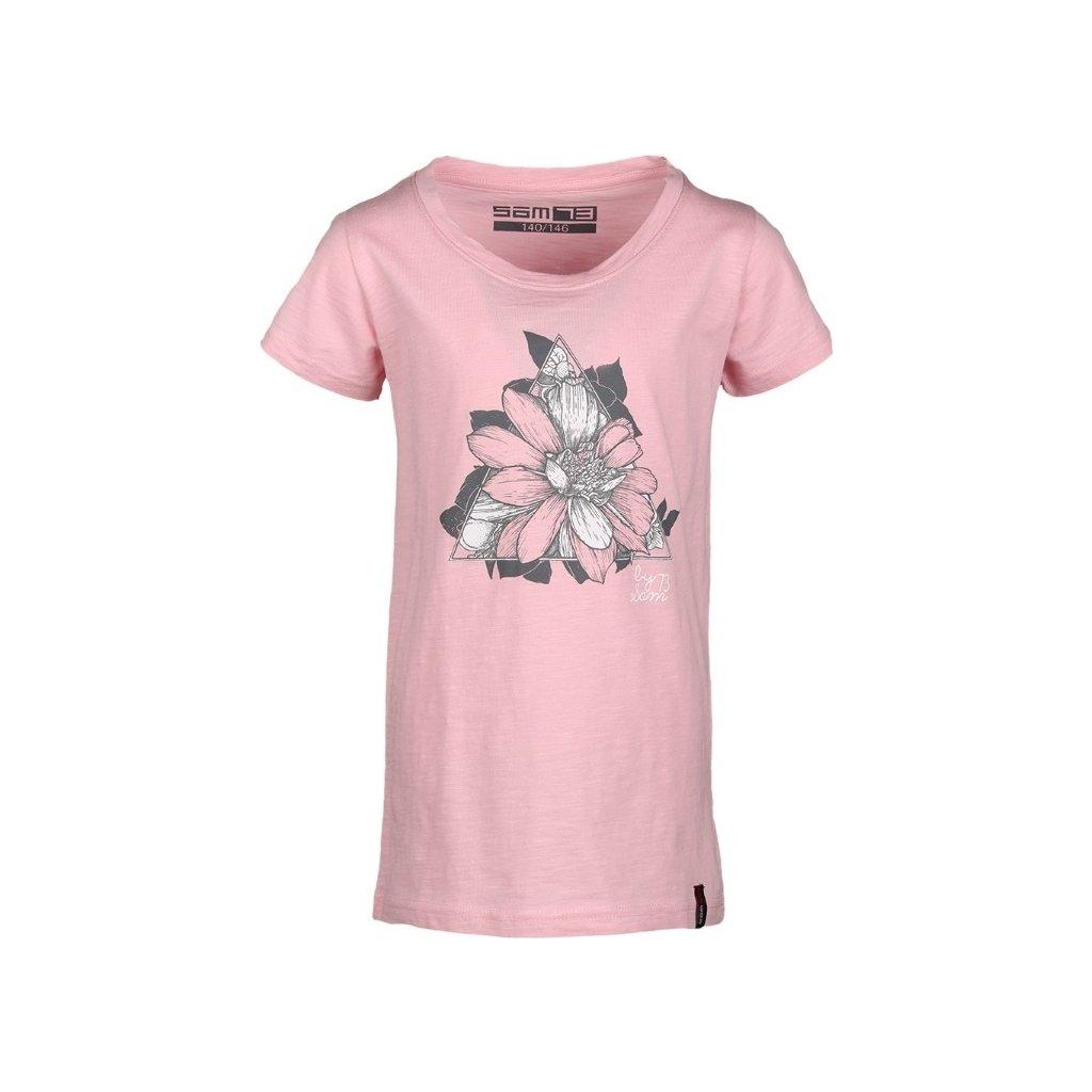 Dívčí triko SAM 73 růžová světlá