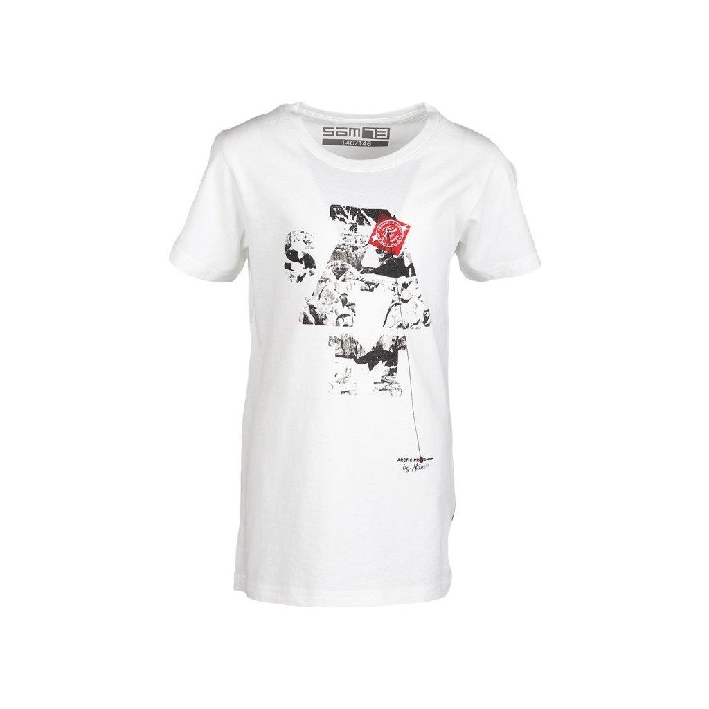 Chlapecké triko SAM 73  bílá