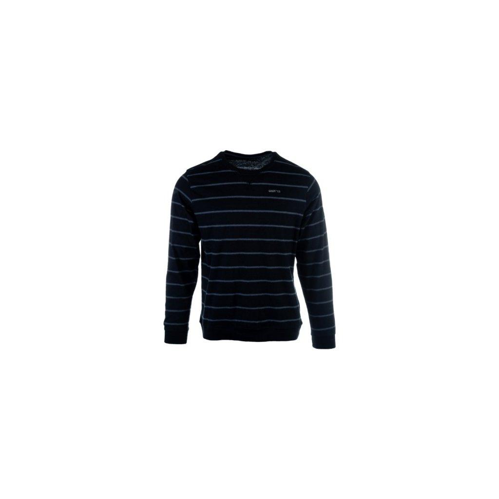 Pánské triko SAM 73 s dlouhým rukávem černá