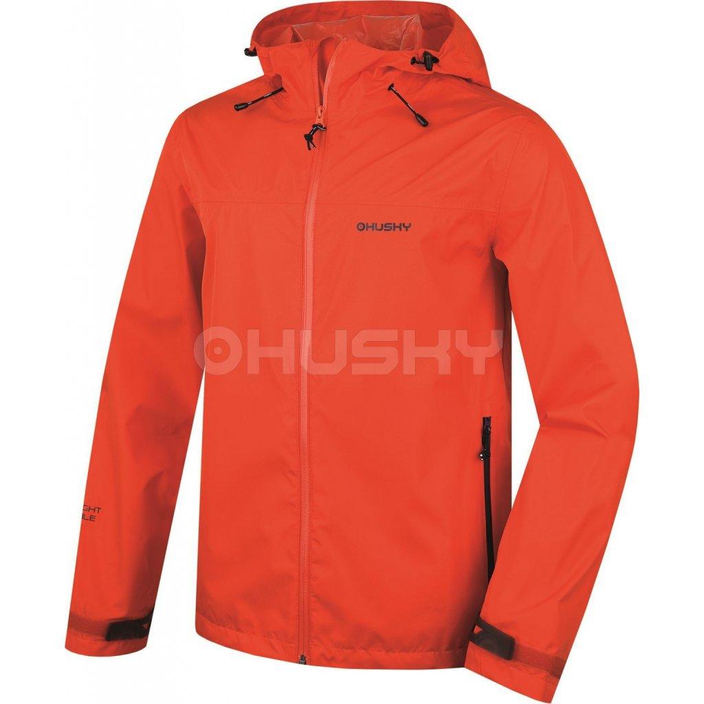 085ac609e2fe Pánská outdoorová bunda HUSKY Lamy M oranžová
