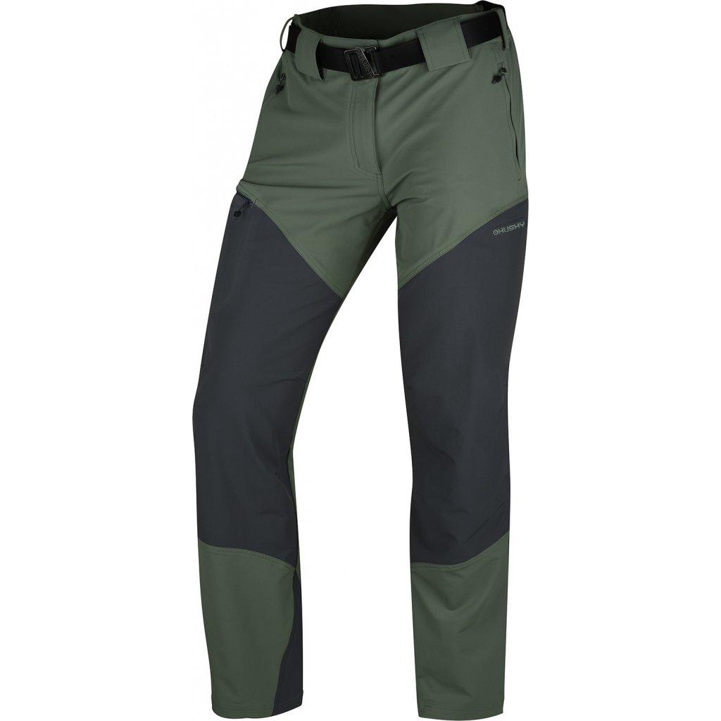 Pánské outdoor kalhoty  HUSKY  Keiry M sv. šedozelená