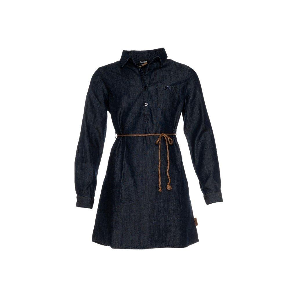 Dívčí šaty SAM 73  tmavá denim