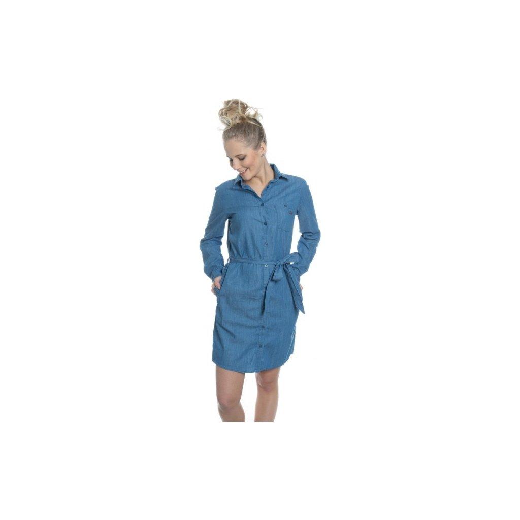 Dámské šaty SAM 73 světlá denim