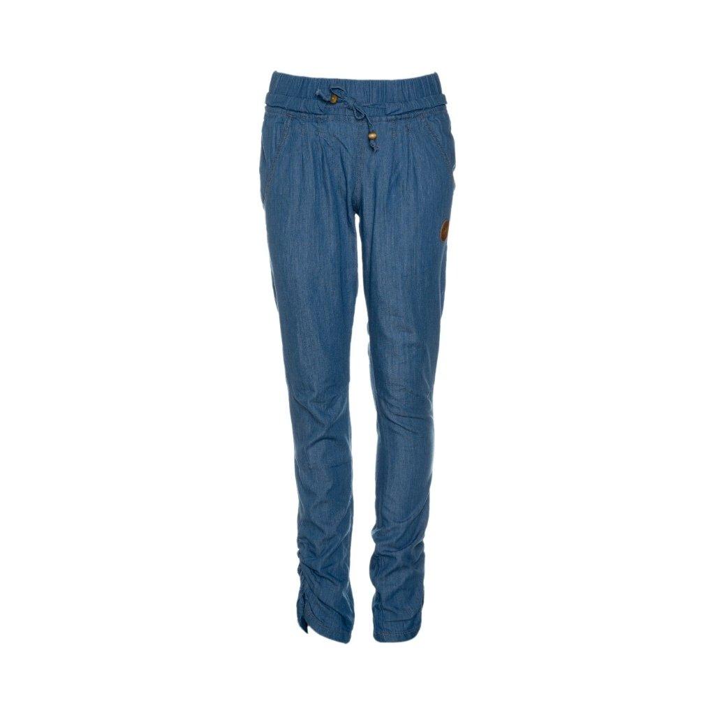 Dívčí kalhoty SAM 73 světlá denim