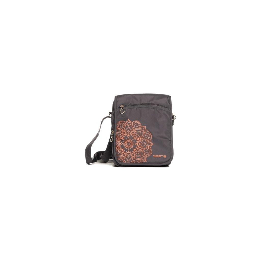 Dámská kabelka SAM 73  šedá tmavá