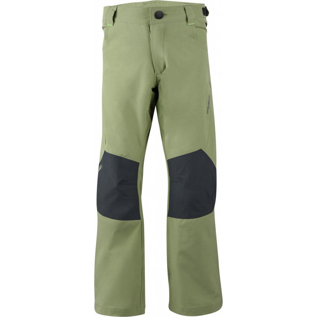 Dětské outdoor kalhoty  HUSKY Zony K olivová