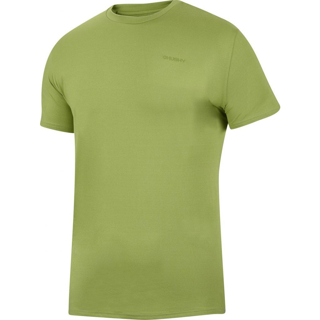Pánské triko HUSKY  Tonie M tm.zelená