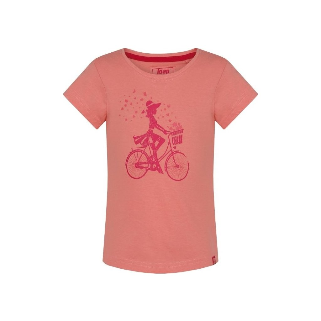 Dětské triko LOAP Birka oranžová