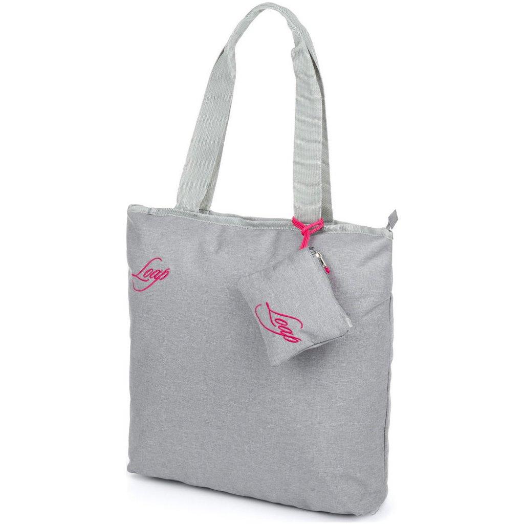 Módní taška LOAP Falnie šedá