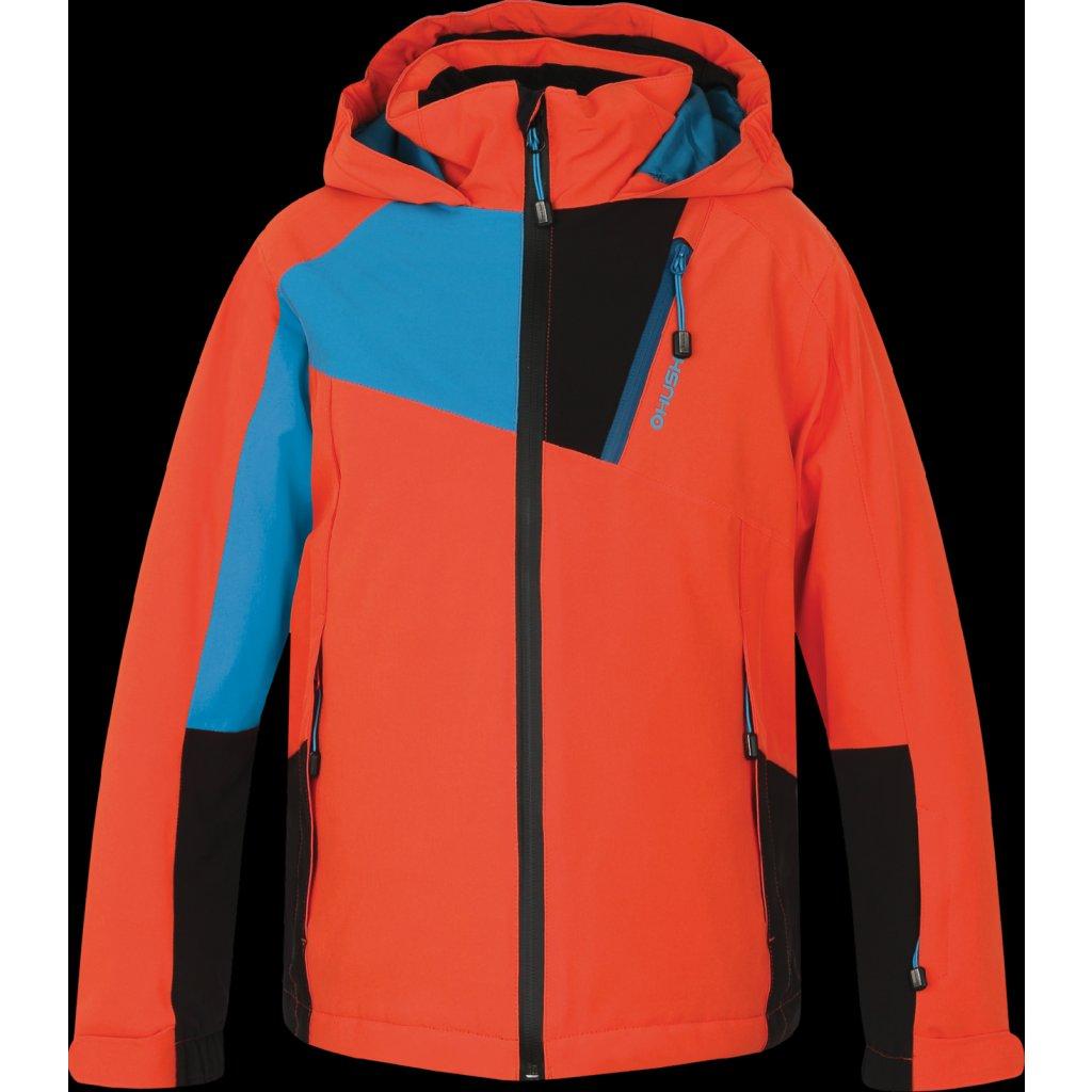 595a235d4a66 Dětská ski bunda HUSKY Zawi Junior oranžová