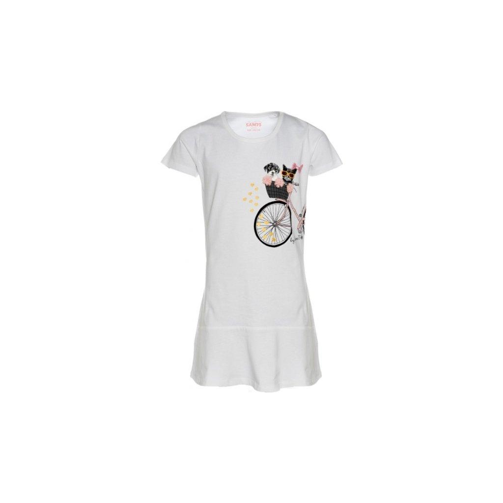 Dívčí šaty SAM 73 bílá