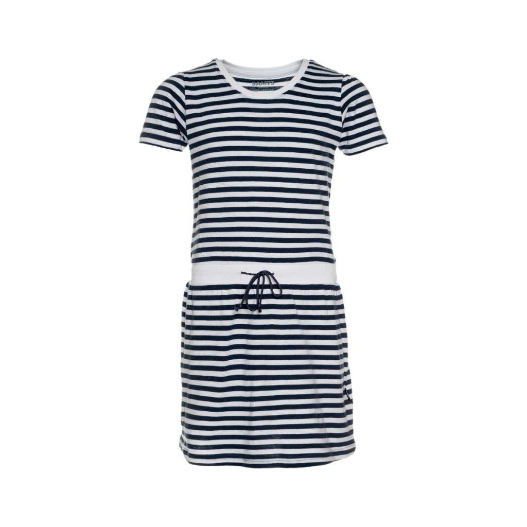 Dívčí šaty SAM 73 tmavě modrá