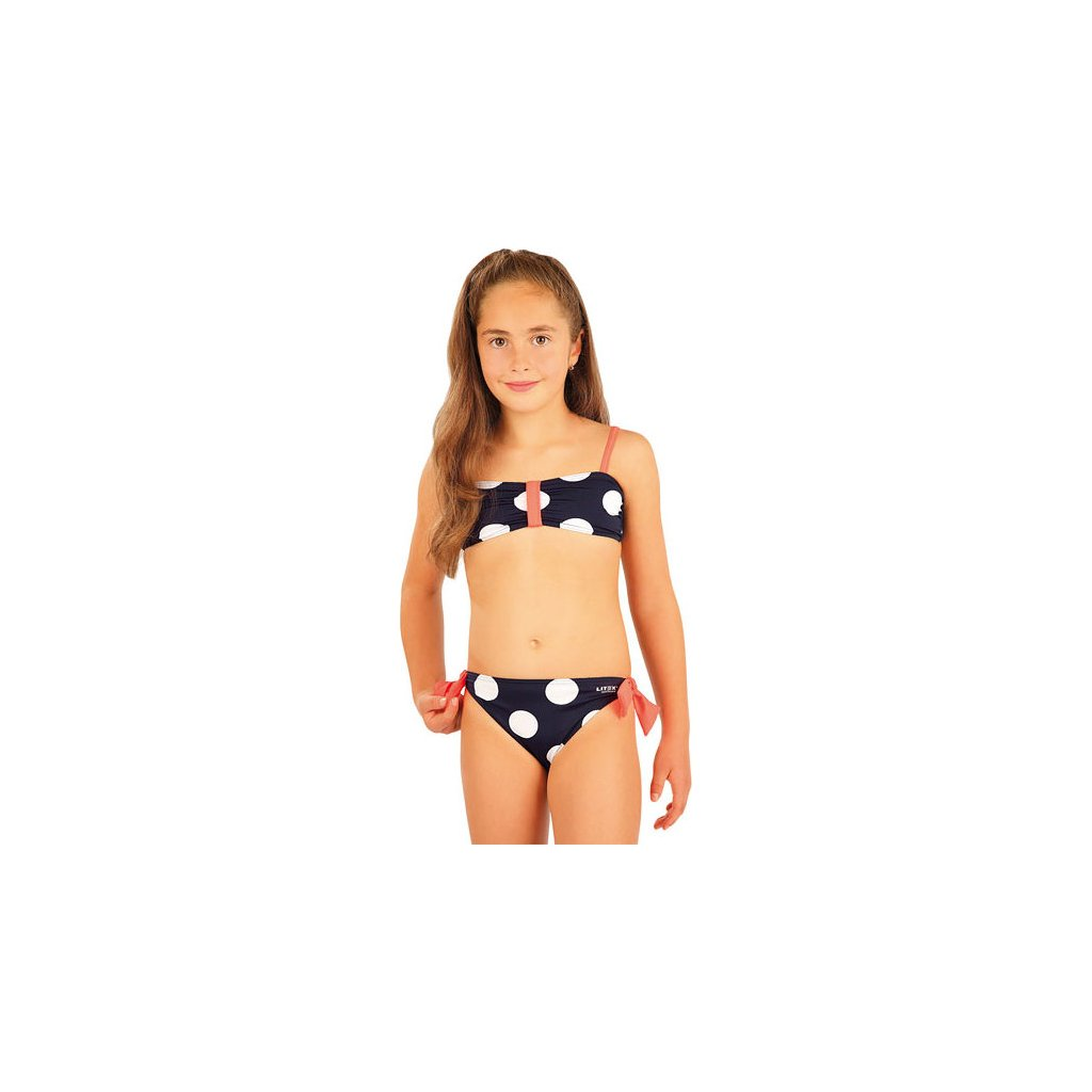 Dívčí plavky kalhotky bokové LITEX