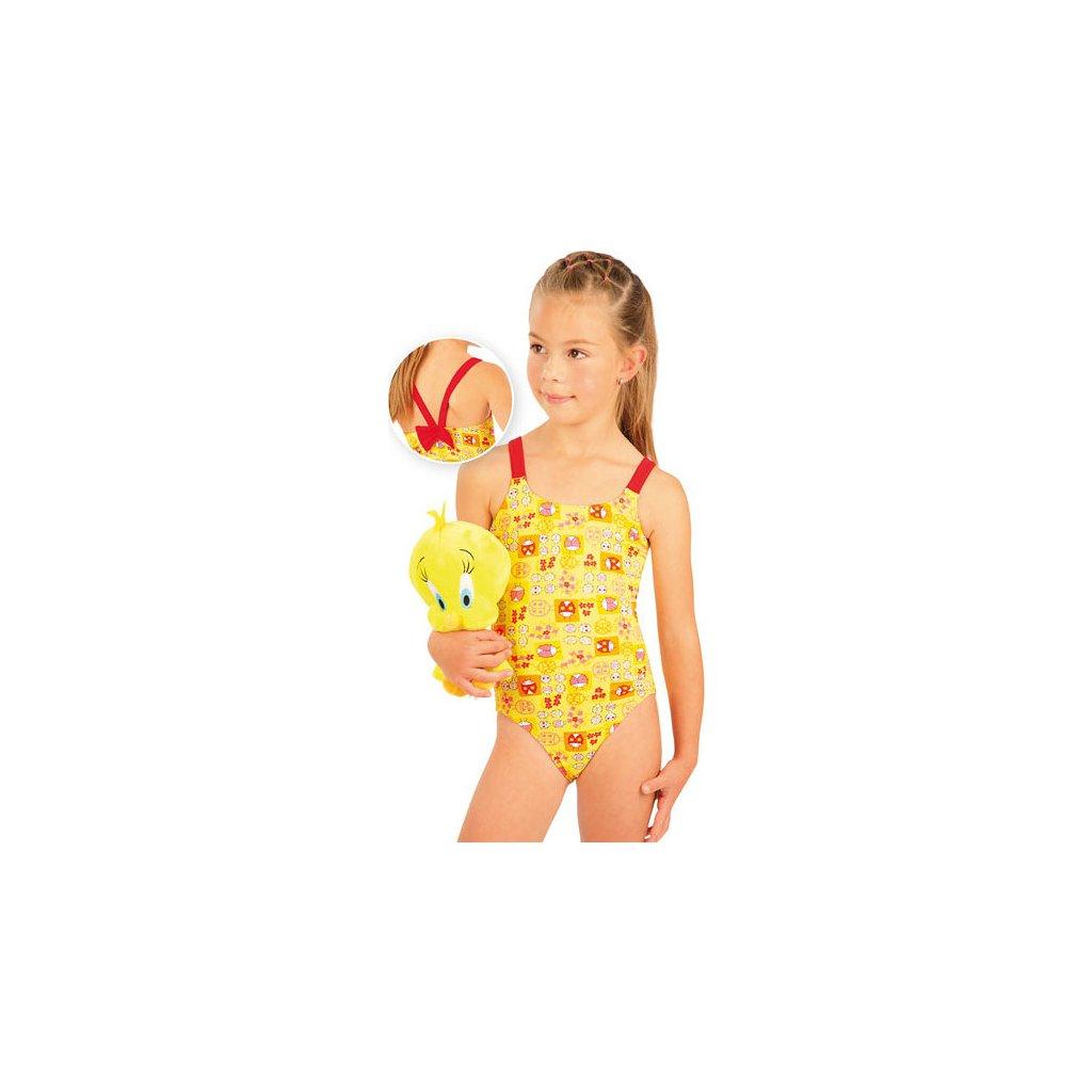 Jednodílné dívčí plavky LITEX