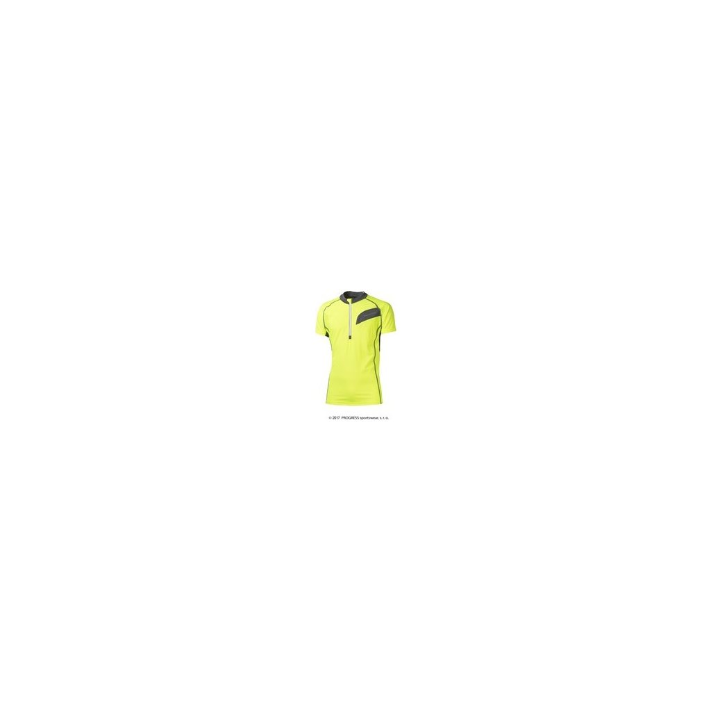 Pánský cyklistický dres PROGRESS Orion HI-VIZ