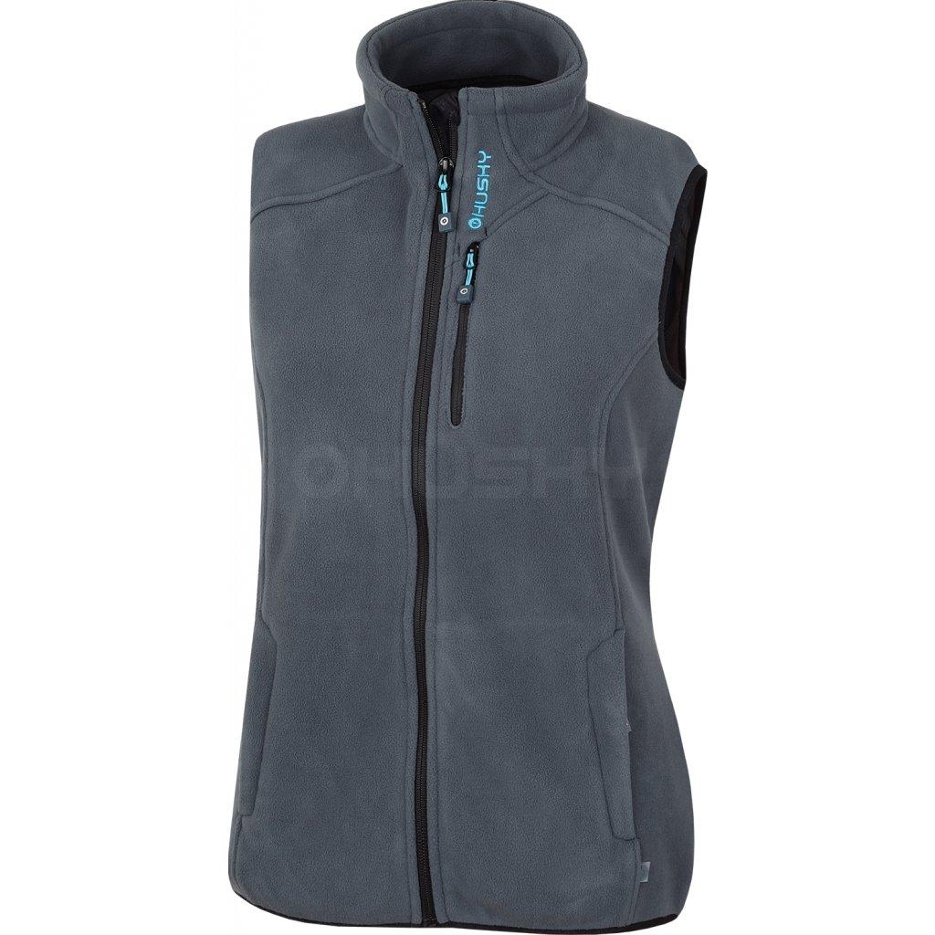 Dámská outdoorová vesta HUSKY Brofer L antracit