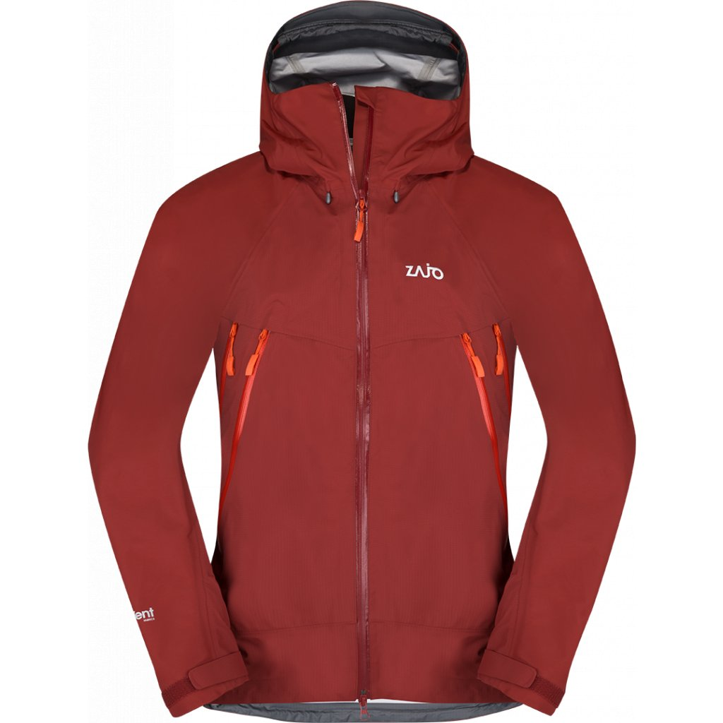 Pánská bunda ZAJO Karakorum Neo Jkt rudá