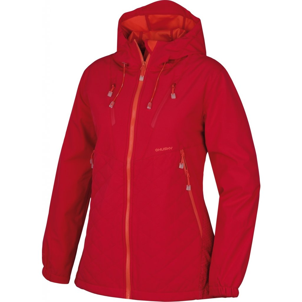 Dámská softshellová bunda HUSKY  Salex L sv. růžová