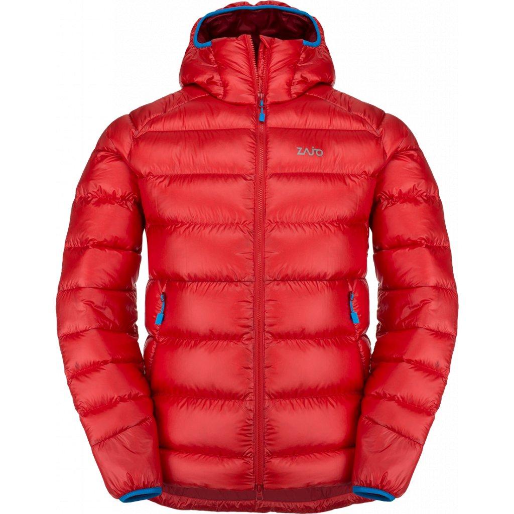 Pánská bunda ZAJO Moritz Jkt rudá