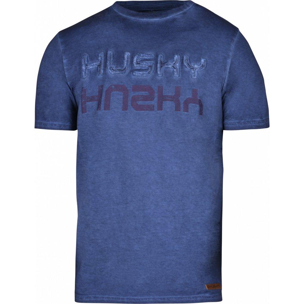 Pánské triko  HUSKY  Broker M tm. modrá