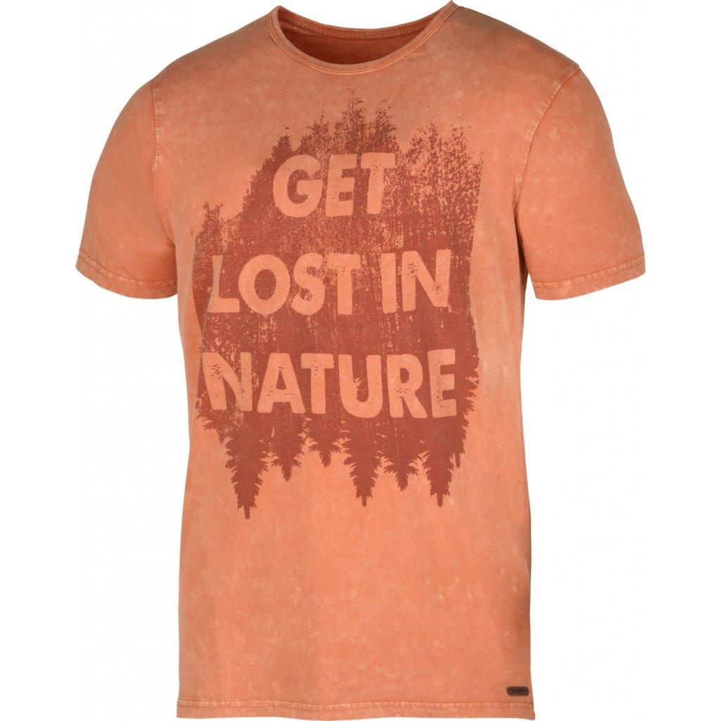 Pánské triko HUSKY  Bronson M tm. oranžová