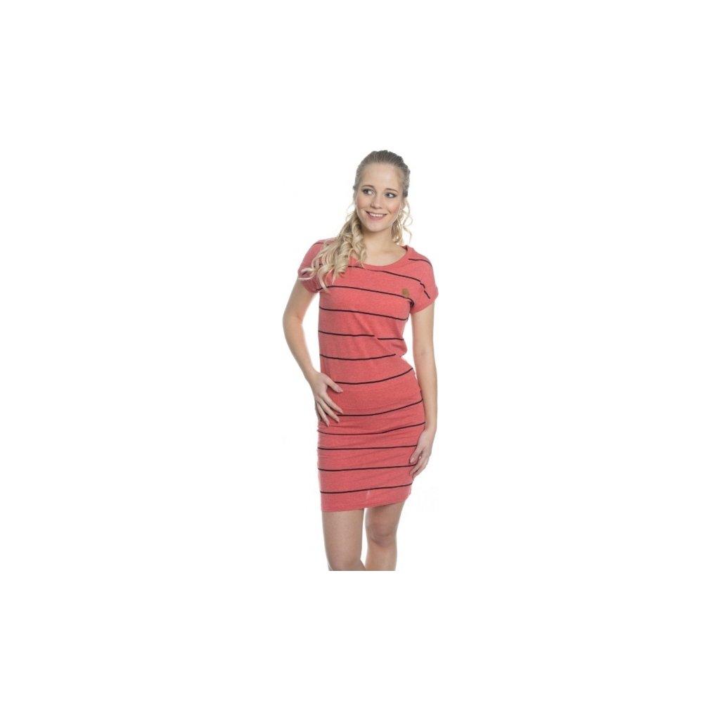 Dámské šaty SAM 73  Červená