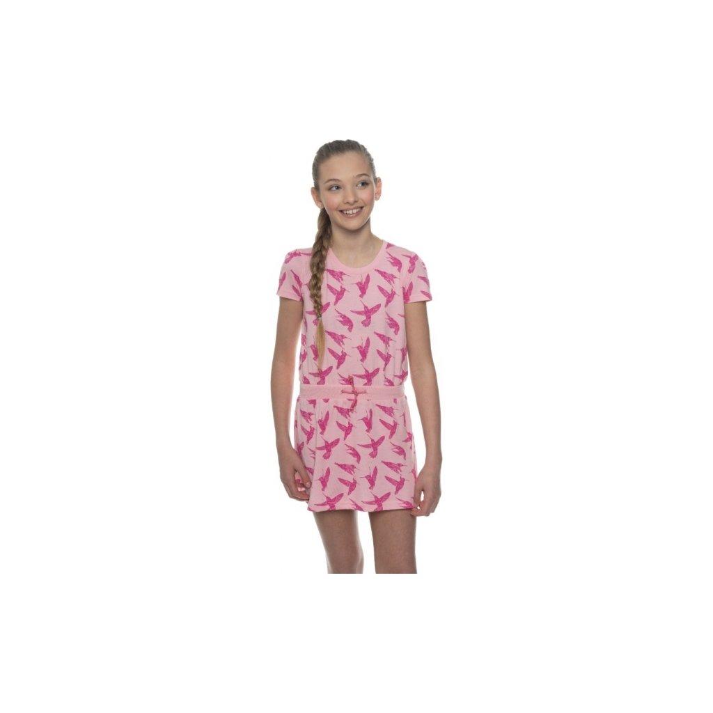 Dívčí šaty SAM 73 světle růžová